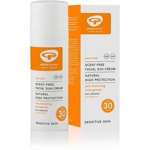 Green People Organic Lifestyle Parfumvrije Zonnebrandcreme Gezicht SPF30 - 50ml