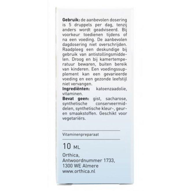 Vitamine K1 & D3 Oliedruppels - 10ml