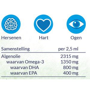 Arctic Blue Pure Algenolie - DHA & EPA - 150ml - Vegan