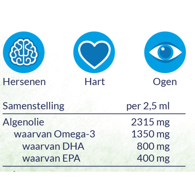 Pure Algenolie - DHA & EPA - 150ml - Vegan