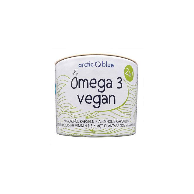 Vegan Algenolie met Vitamine D3 - 90 capsules