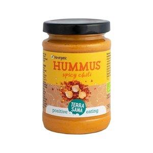 Terrasana Hummus Spread met Chili - 190g - BIO