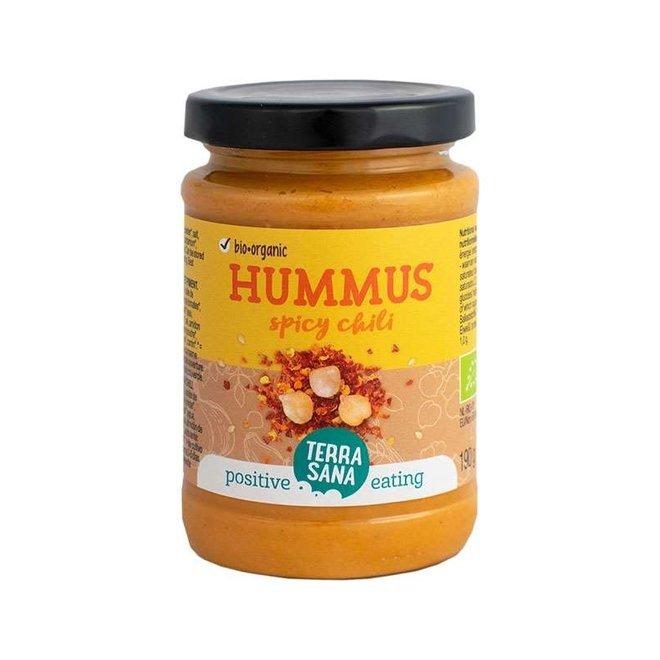 Hummus Spread met Chili - 190g - BIO
