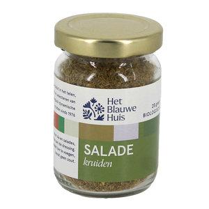 Het Blauwe Huis Salade Kruiden - 25g - BIO