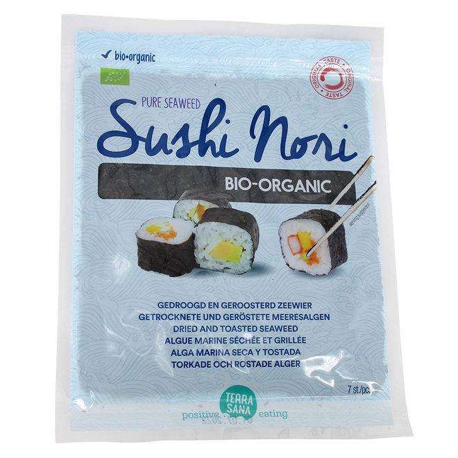 Sushi Nori - Gedroogd & Geroosterd - 7 vellen - 17g - BIO