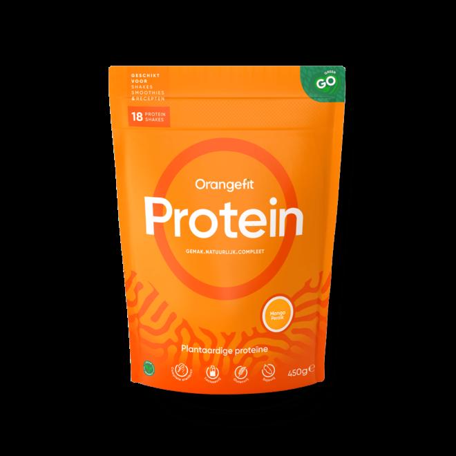 Protein Mango/Perzik met Zoetstoffen uit Stevia - 450g