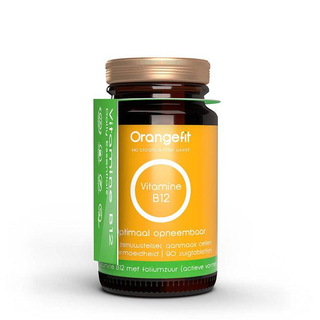 Vitamine B12 + foliumzuur - 90 Smelttabletten