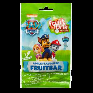 Fruitfunk Paw Patrol Schoolbars Appel - (3st) 60g