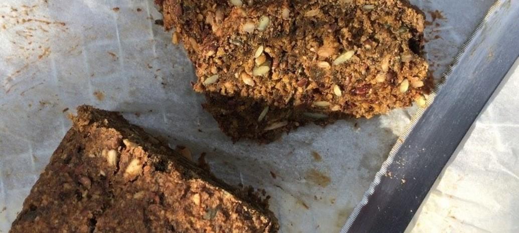 Speculaascake met pitten en zaden