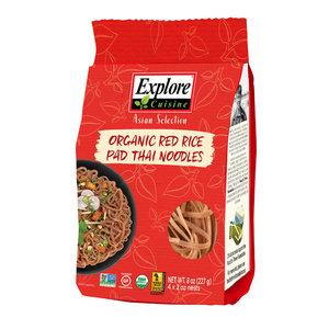 Explore Cuisine Rode Rijst Pad Thai Noodles - 227g - BIO