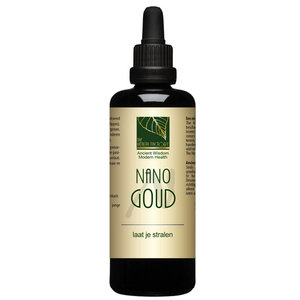 The Health Factory Nano Goud - 100ml (Colloïdale) Nano mineralen