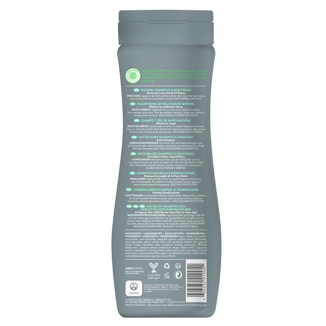 2-in-1 Scalp Care - Shampoo en Body Wash - Mannen - 473ml