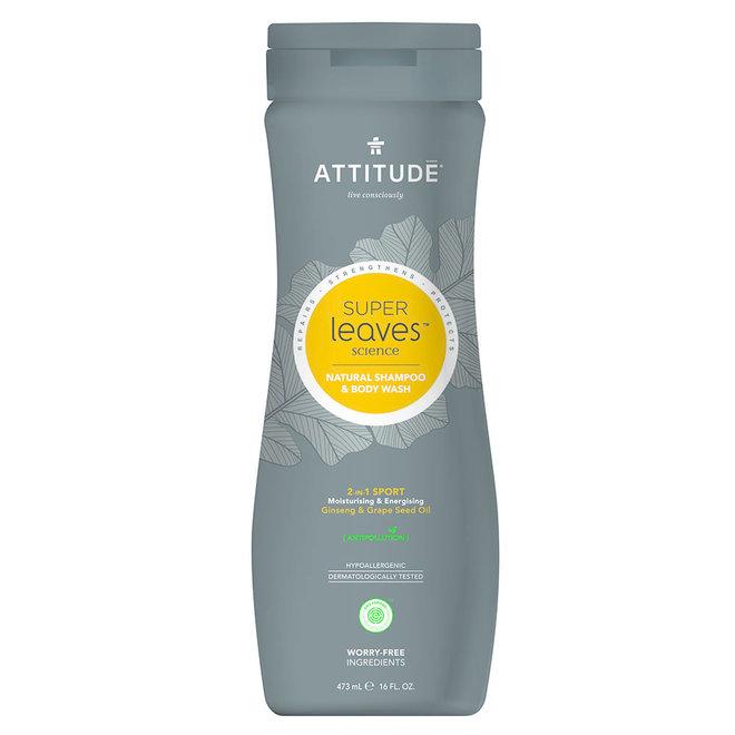 2-in-1 Sport - Shampoo en Body Wash - Mannen - 473ml