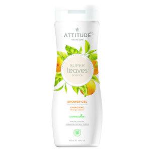 ATTITUDE Shower Gel Super Leaves - Energizing - 473ml