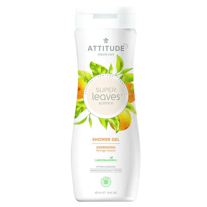 Shower Gel Super Leaves - Energizing - 473ml