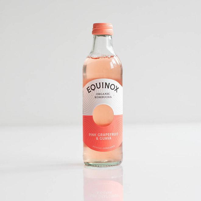 Kombucha - Pink Grapefruit en Guave - 275ml - BIO