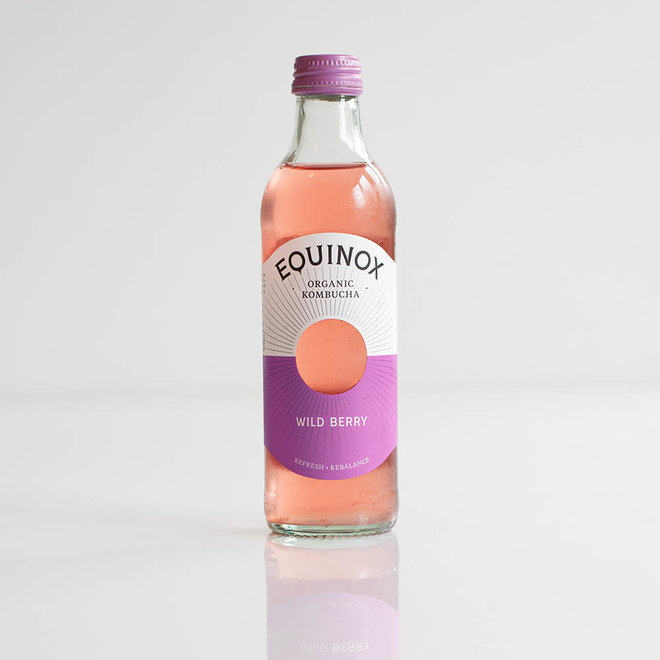 Equinox Kombucha - Wild Berry - 275ml - BIO