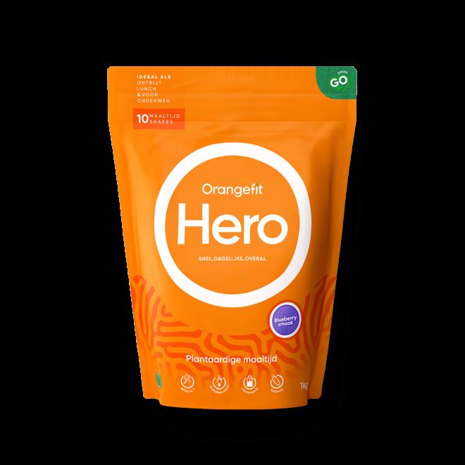 Hero Blueberry met Zoetstoffen uit Stevia - 1kg