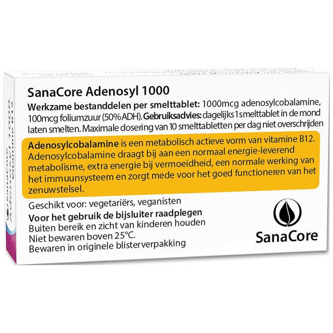 Adenosyl 1000 Vitamine B12 60 tabletten