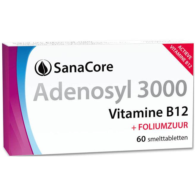 Adenosyl 3000 Vitamine B12 60 tabletten
