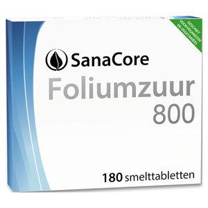 Sanacore Foliumzuur 800 180 tabletten