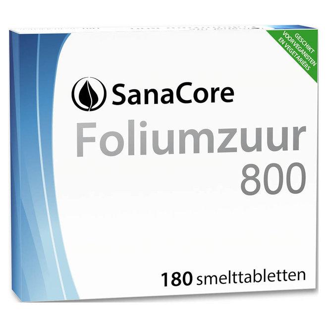 Foliumzuur 800 180 tabletten