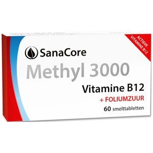 Sanacore Methyl 3000 Vitamine B12 60 tabletten