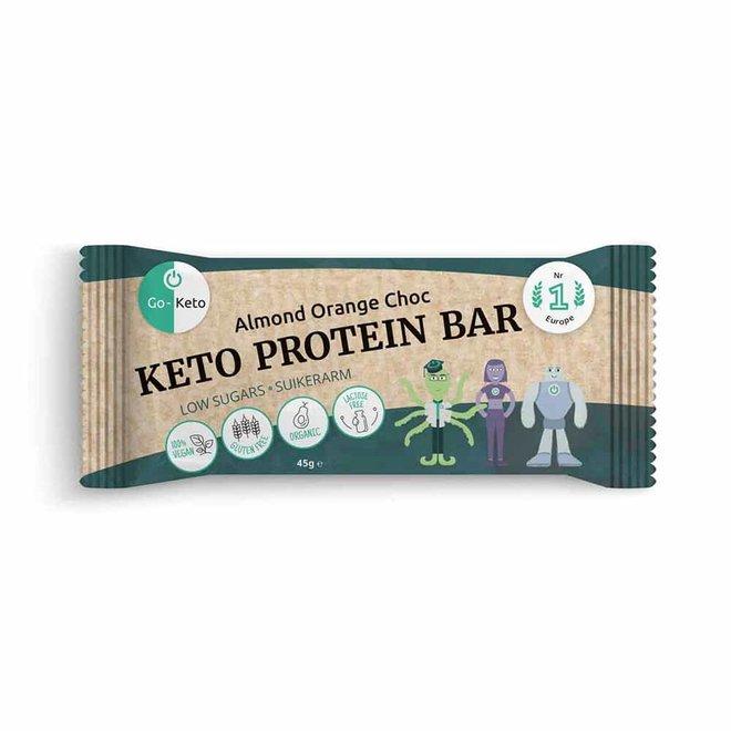 Protein Bar - Almond Orange Choc - 45g - BIO