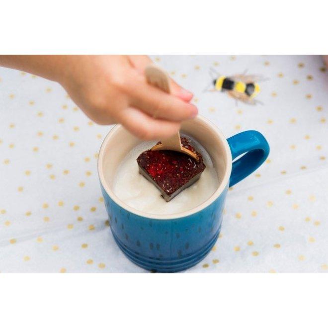 Cocoasticks met honing - 70% Cacao - 1st - BIO