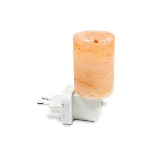 Esspo Himalayazout nachtlamp voor stopcontact - Cilinder