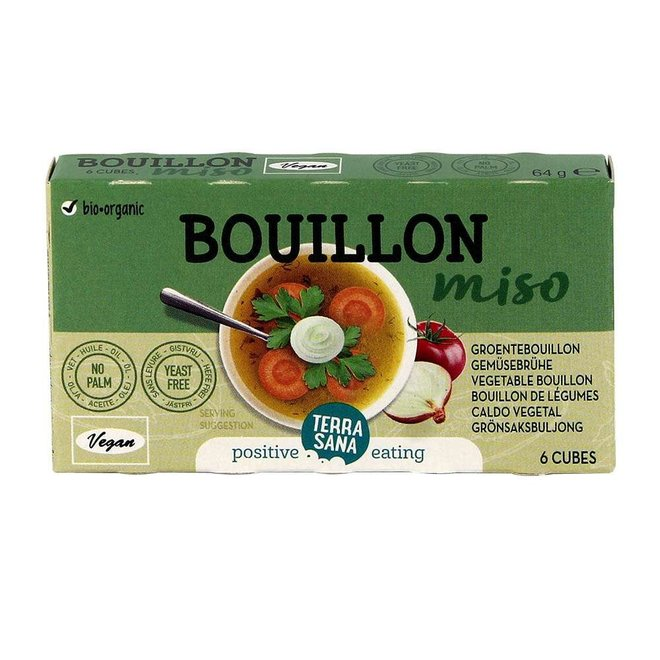 Bouillonblokjes Zonder Gist met miso - BIO