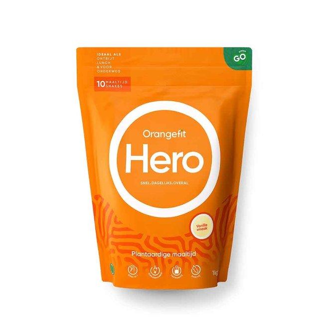 Hero Vanille met Zoetstoffen uit Stevia - 1kg