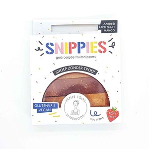 Snippies Gedroogde Fruitsnippers - Mix - 18g