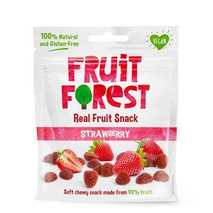 Fruit Forest Aardbeien  fruit snoepjes -  30g