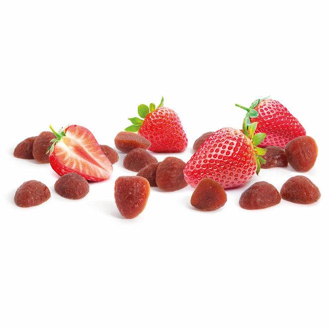 Aardbeien  fruit snoepjes -  30g