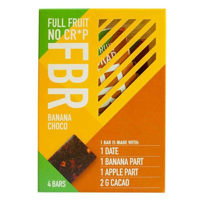Fruitreep Banaan/Choco - 4-pack