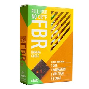 FBR Fruitreep Banana Choco - 4-pack