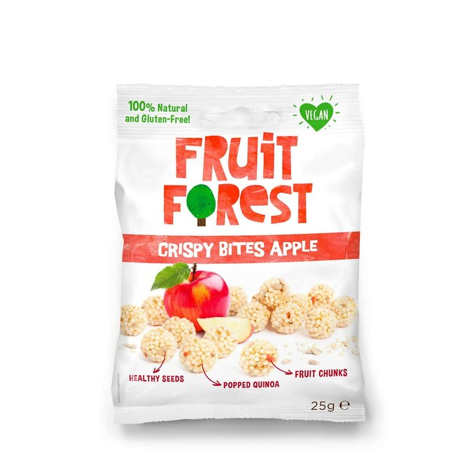 Crispy bites appel - 25g