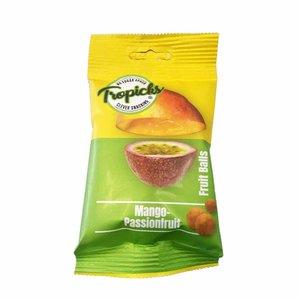 Tropicks Mango/Passievrucht Fruit Balls - 50g