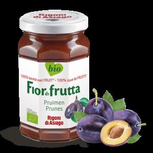 FiordiFrutta Fruitspread Pruimen 250g-BIO
