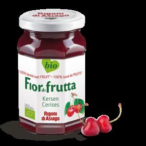 FiordiFrutta Fruitspread Kersen 250g - BIO