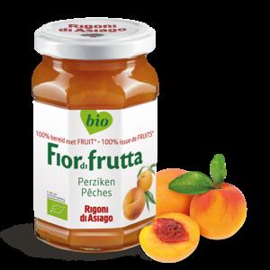 FiordiFrutta Fruitspread Perzik 250g - BIO