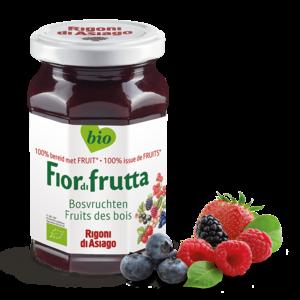 FiordiFrutta Fruitspread Bosvruchten 250g - BIO