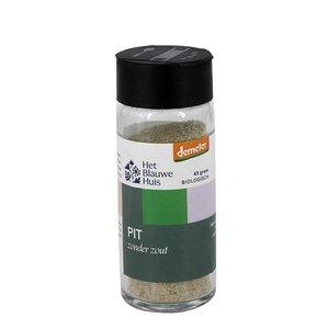 Het Blauwe Huis Pit kruiden (zonder zout) - 45g - BIO