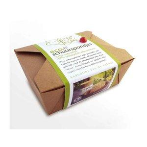 Eco-schuursponsjes 3-in-1 set ESPARTO