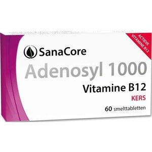Sanacore Adenosyl 1000 Vitamine B12 - 60 tabletten zonder foliumzuur