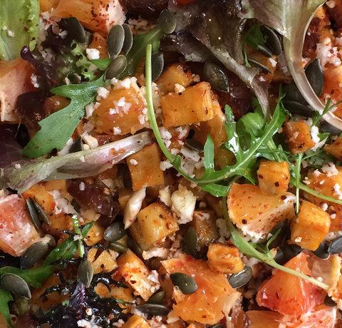 Pastinaak Salade met Bloemkool Couscous