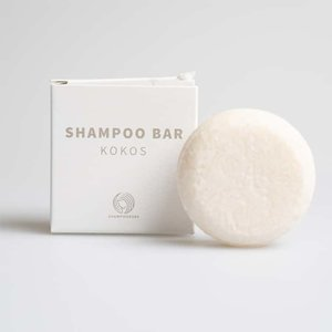 Shampoo Bars Kokos Medium - Voor alle haartypes - 30g