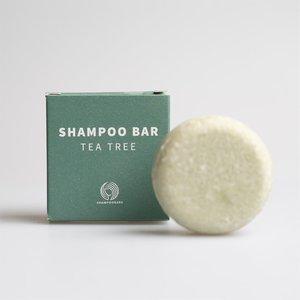 Shampoo Bars Tea Tree Medium - Gevoelige hoofdhuid - 30g