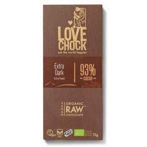 Lovechock Extra Dark 93% cacao - 70g - BIO